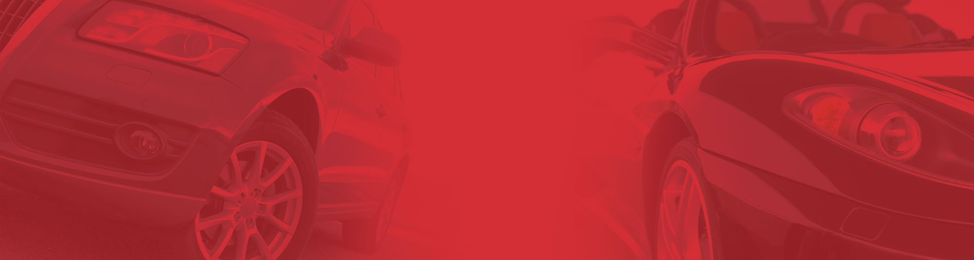 Red Hue Banner Background